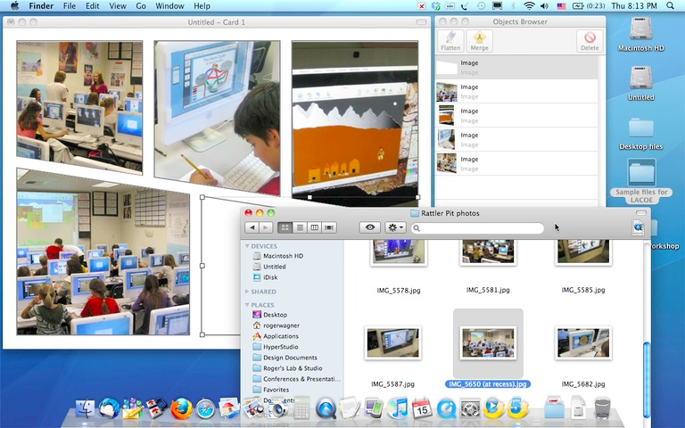 QuickTime Player - Export for Web - Comic Template Demo